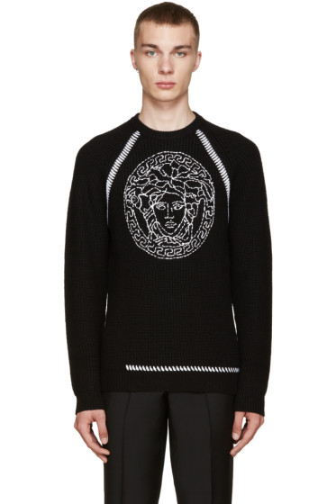 Versace - Black Medusa Sweater