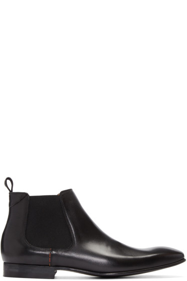PS by Paul Smith - Black Falconer Chelsea Boots