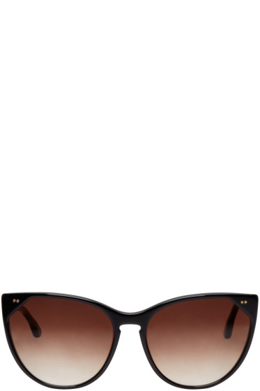 Thierry Lasry - Black Swappy Cat-Eye Sunglasses