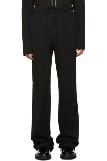 Yang Li - Black Drawstring Trousers