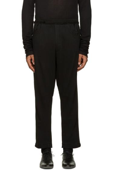 Haider Ackermann - Black Cropped Lounge Pants