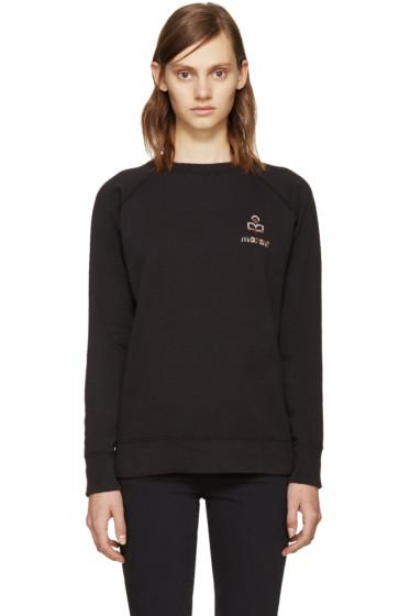 Isabel Marant Etoile - Black Logo Billy Sweatshirt