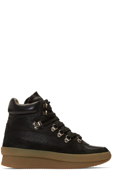 Isabel Marant - Black Brent Hiking Boots