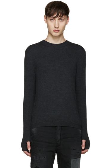 Diesel Black Gold - Grey Merino Sweater