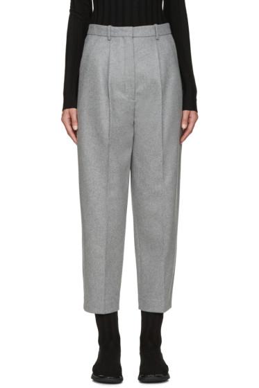 Acne Studios - Grey Wool Milli Trousers