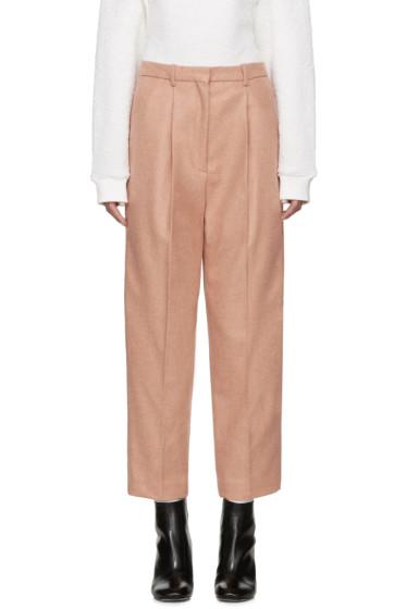 Acne Studios - Pink Wool Milli Trousers
