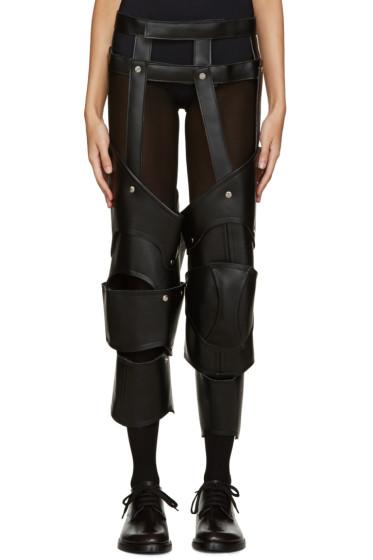 Comme des Garçons - Black Faux-Leather Harness