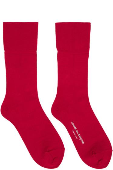 Comme des Garçons - Red Long Socks