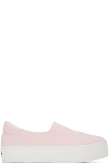 Opening Ceremony - SSENSE Exclusive Pink Platform Slip-On Sneakers