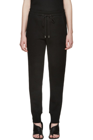 3.1 Phillip Lim - Black French Terry Lounge Pants