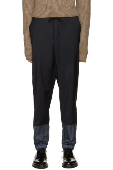 3.1 Phillip Lim - Navy Wool Lounge Pants