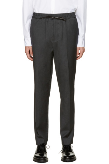3.1 Phillip Lim - Grey Wool Tapered Trousers