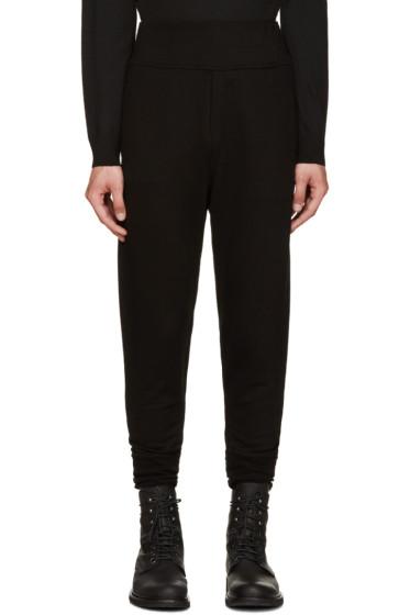 Ann Demeulemeester - Black Skinny Lounge Pants