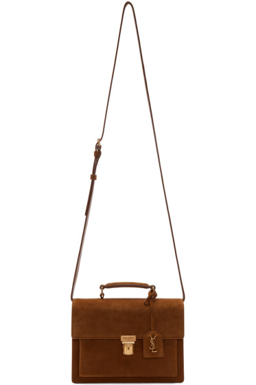 Saint Laurent - Brown Medium High School Satchel