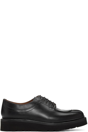 Grenson - Black Percy Lace Shoes
