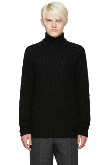Kolor - Black Wool Turtleneck