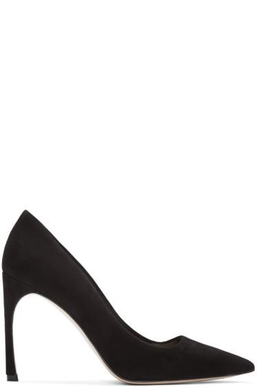Miu Miu - Black Suede Heels