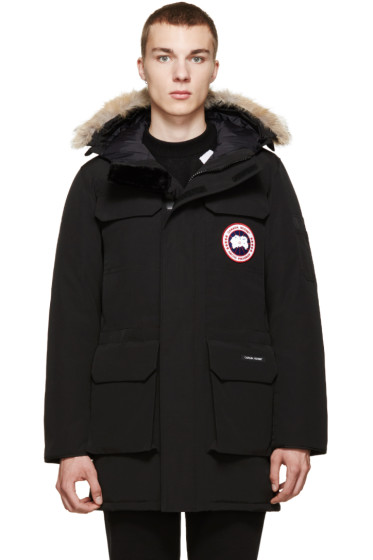 cheap canada goose citadel parka for men in black
