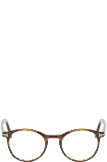 Tom Ford - Brown Tortoiseshell TF5294 Optical Glasses