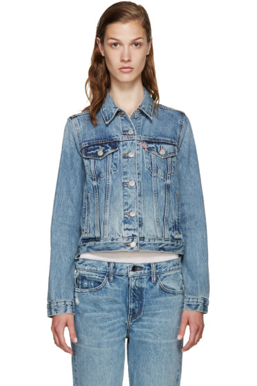 Levi's - Blue Denim Authentic Trucker Jacket
