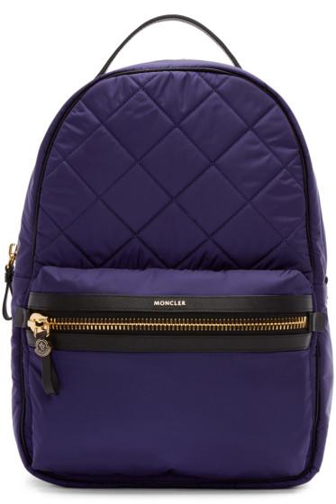 Moncler - Navy Nylon Gigi Backpack