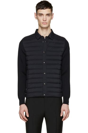 Moncler - Navy Down Panel Shirt