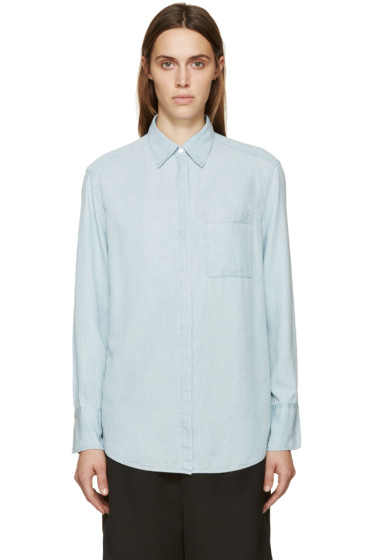 Acne Studios - Blue Denim Addle Shirt