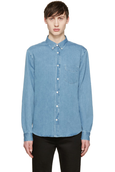 Acne Studios - Blue Denim Isherwood Shirt