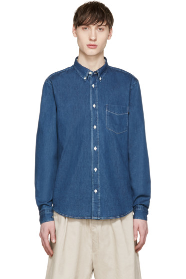 Acne Studios - Indigo Denim Isherwood Shirt