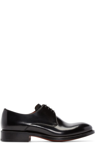 Acne Studios - Black Leather Derbys