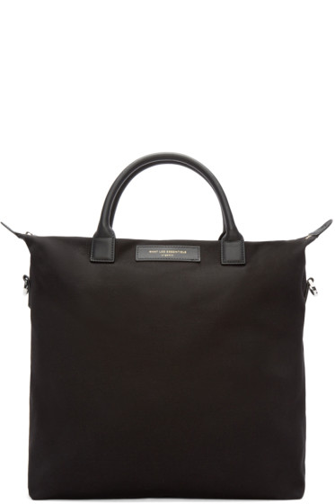 Want Les Essentiels - Black Canvas O'Hare Shopper Tote