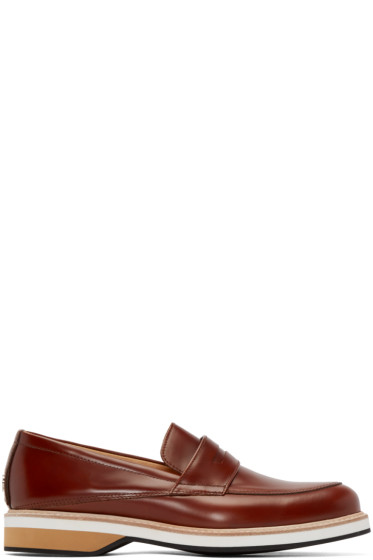 Want Les Essentiels - Brown Leather Marcos Loafers