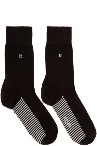 Kenzo - Black 'K' Socks