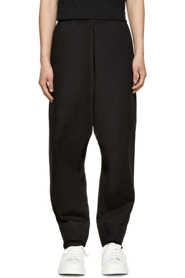 Marcelo Burlon County of Milan - Black Sarouel Guines Lounge Pants