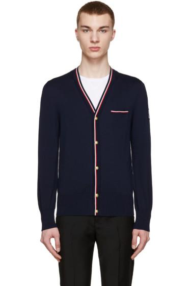 Moncler Gamme Bleu - Navy Knit Cardigan