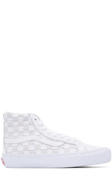 Vans - White 50th OG SK8-Hi LX Sneakers