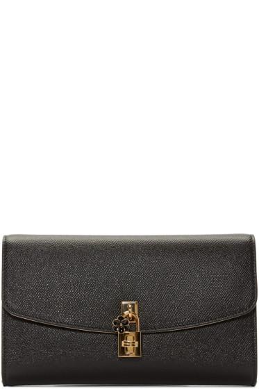 Dolce & Gabbana - Black Dolce Pochette Clutch