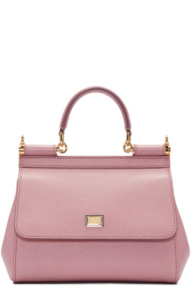 Dolce & Gabbana - Pink Small Miss Sicily Bag