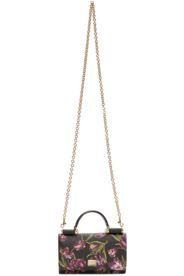 Dolce & Gabbana - Black Phone Shoulder Bag