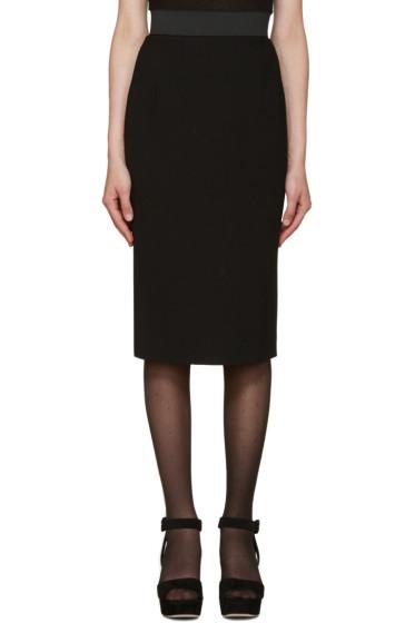 Dolce & Gabbana - Black Mid-Length Skirt