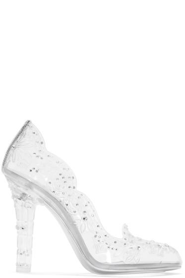 Dolce & Gabbana - Clear Cinderella Heels