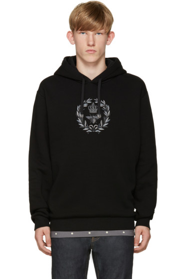 Dolce & Gabbana - Black Crown & Bee Hoodie