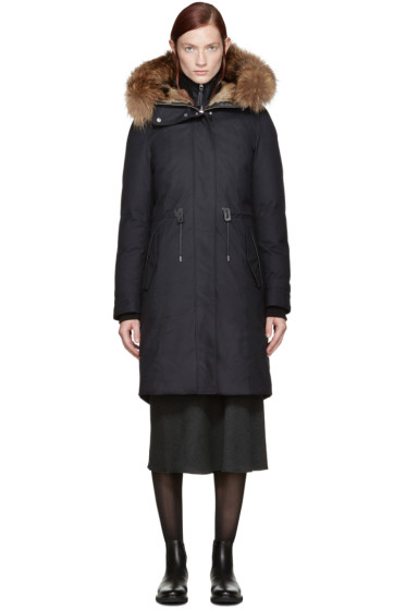Mackage - Navy Down Harlinda Coat