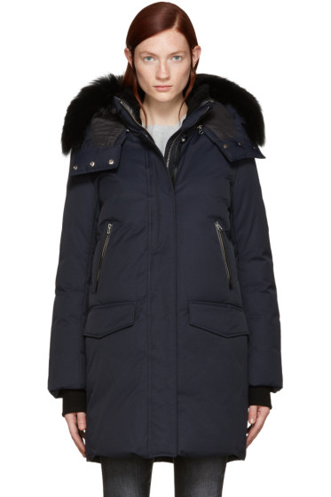 Mackage - Navy Down Juana Coat