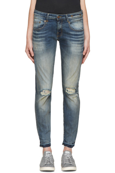 R13 - Indigo Boy Skinny Jeans