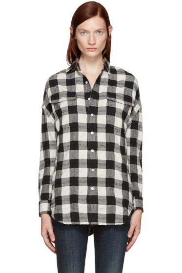 R13 - Black X-Oversized Shirt