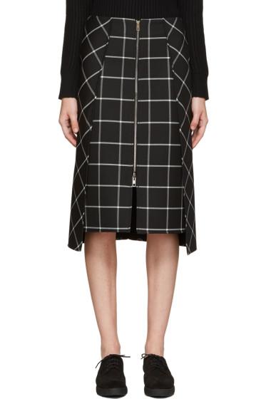 Rag & Bone - Black Plaid Sabina Skirt