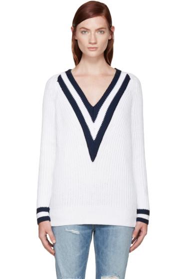 Rag & Bone - SSENSE Exclusive White Talia Sweater