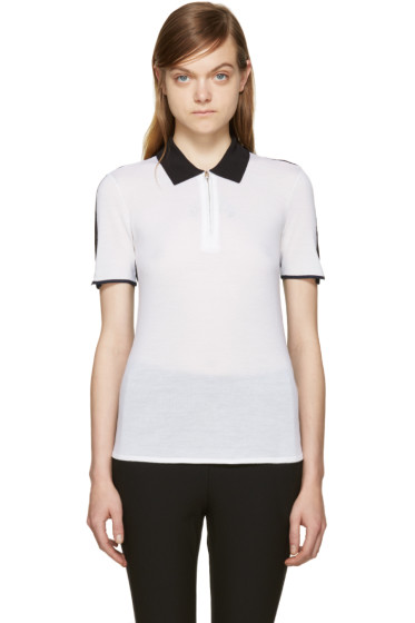 Rag & Bone - Black & White Alice Polo