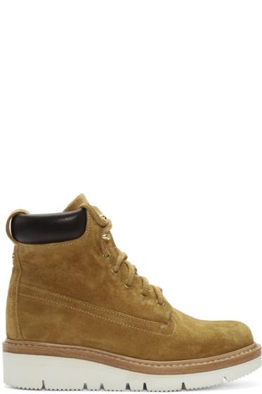Rag & Bone - Tan Suede Camden Boots
